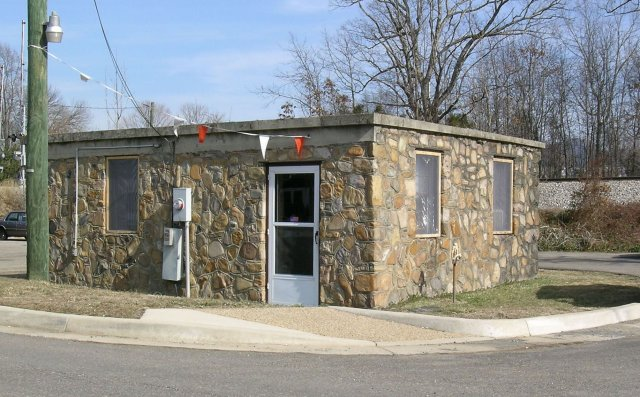 Old Grottoes town Jail